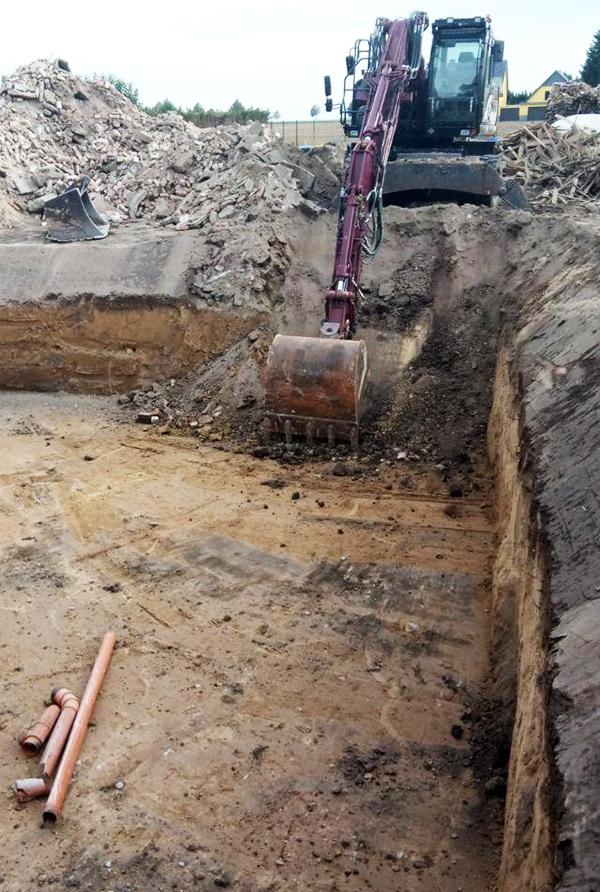 Baugruben, Abriss & Entsorgung